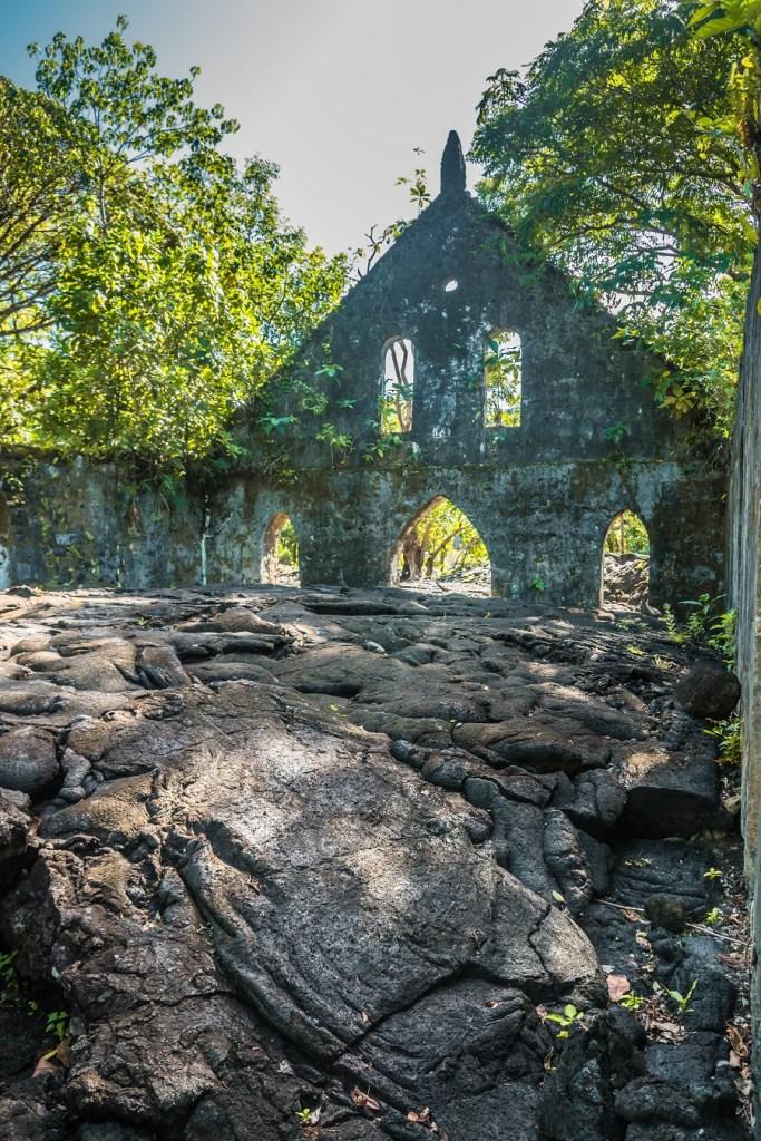 Saleaula Lava Church, Savaii, Samoa Country Guide, Ultimate Backpacking Guide to Samoa, Samoa on a Budget, Check out more at www.beardandcurly.com.