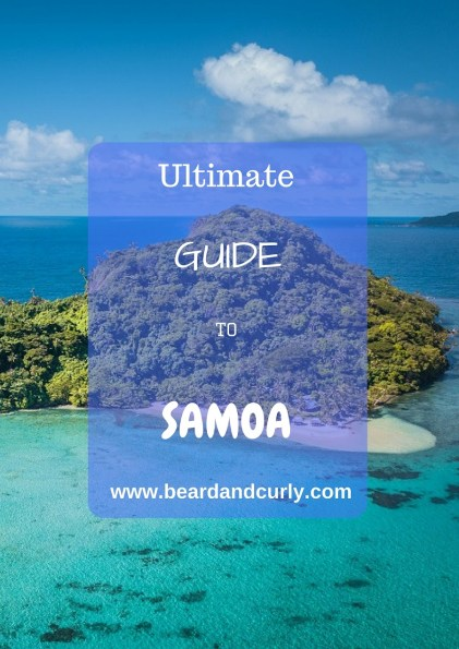 Samoa Country Guide, Ultimate Backpacking Guide to Samoa, Samoa on a Budget, Check out more at www.beardandcurly.com.