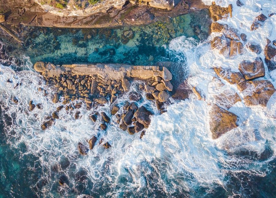 Giles Baths, Sydney's Top 10 Rockpools, Best Rockpools in Sydney, Top 10 Natural Ocean Pools in Sydney, Best Ocean Pools Sydney, beardandcurly.com