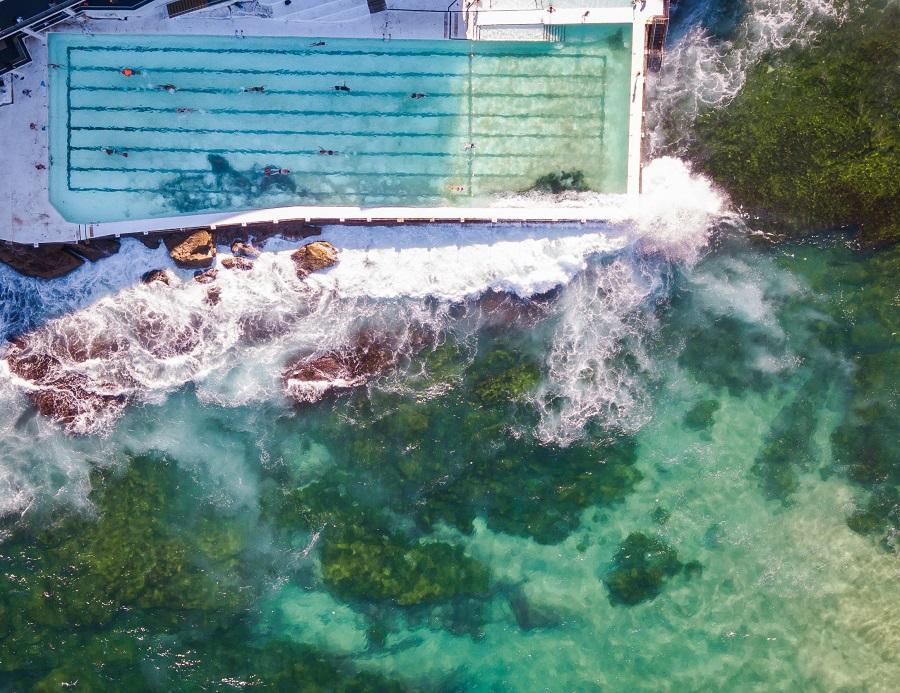 Bondi Icebergs Pool, Sydney's Top 10 Rockpools, Best Rockpools in Sydney, Top 10 Natural Ocean Pools in Sydney, Best Ocean Pools Sydney, beardandcurly.com