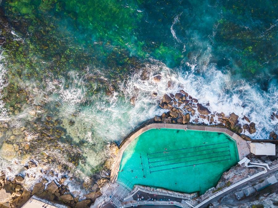 Bronte Baths, Sydney's Top 10 Rockpools, Best Rockpools in Sydney, Top 10 Natural Ocean Pools in Sydney, Best Ocean Pools Sydney, beardandcurly.com