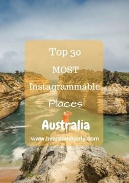 most Instagrammed spots in Australia, 25 Most Instagrammable Places in Australia, Most Instagrammable Spots in Australia, Instagram Australia, Instagram Tasmania, Instagram New South Wales, Instagram Queensland, Instagram Northern Territory, Instagram South Australia, beardandcurly.com
