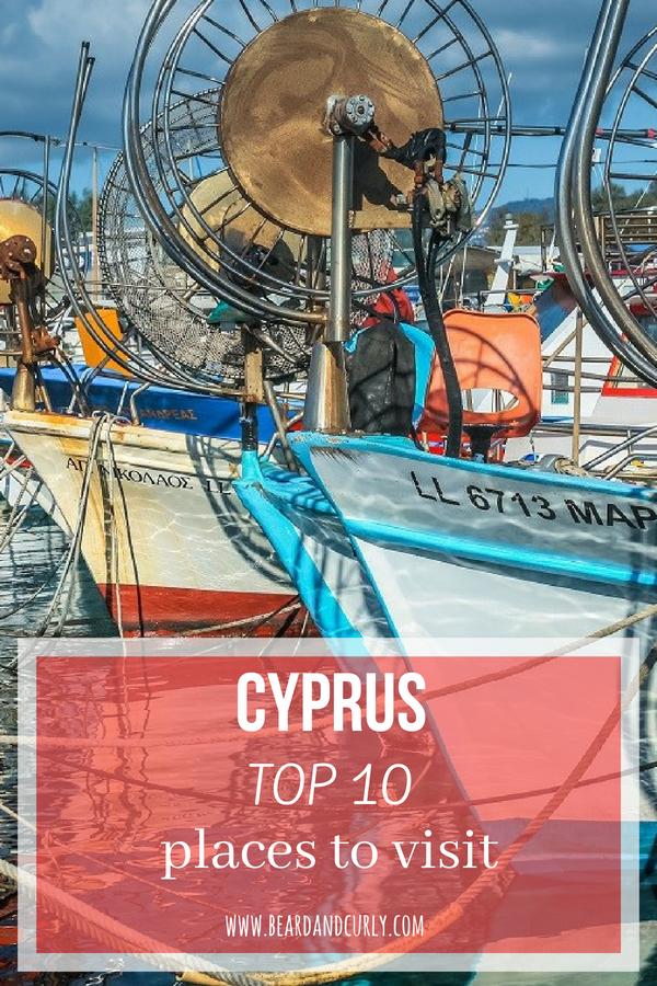 Cyprus Top 10 Places to Visit, Cyprus Top Places to Visit, Cyprus, Europe, Beach, Culture #europe #eu #cyprus www.beardandcurly.com