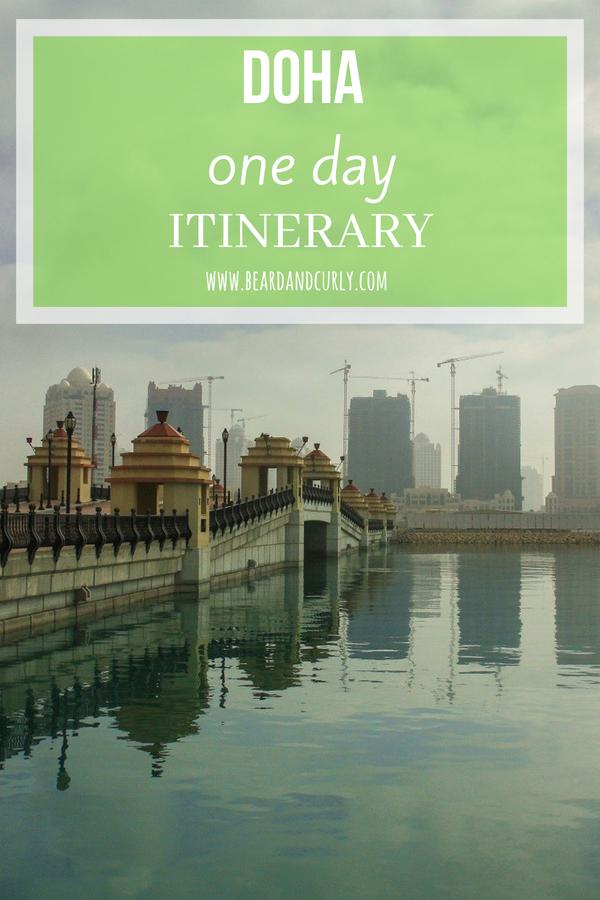 One-Day Itinerary in Doha, Qatar, Qatar Airlines, Visa Free, #doha #qatar www.beardandcurly.com