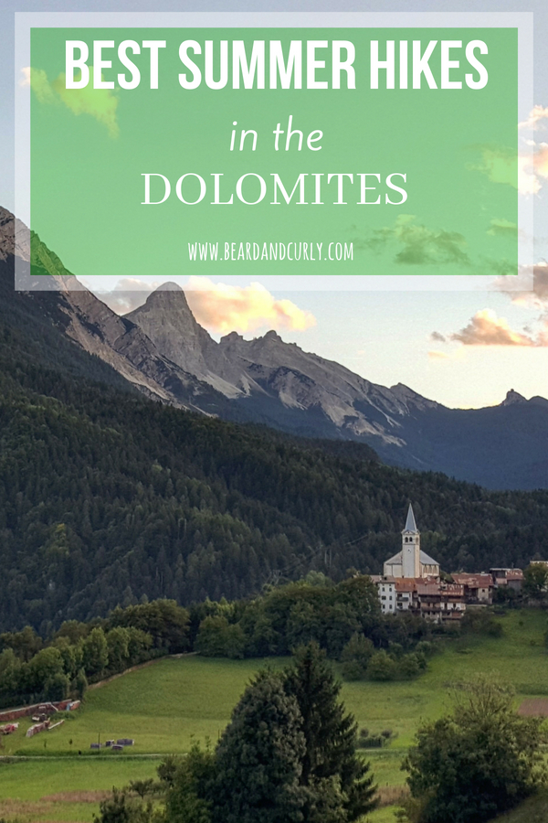 Best Summer Hikes in the Dolomites, Italy, Italian Dolomites, hiking, mountains, lakes, alpine, via feratta, #italy #dolomites #dolomiti #europe #hike www.beardandcurly.com