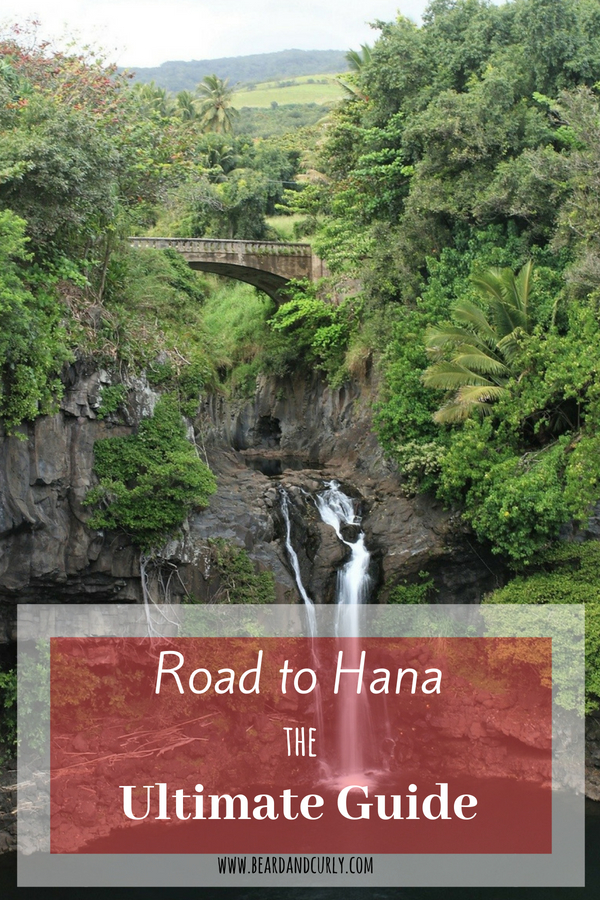 Road to Hana Ultimate Guide, Road Trip, Drive, Highway to Hana, Beaches, Lookouts, Waterfalls, Hiking, Bamboo Forest, Volcanoes, Haleakala, Red Sand, #roadtrip #drive #hana #road #maui #hawaii www.beardandcurly.com