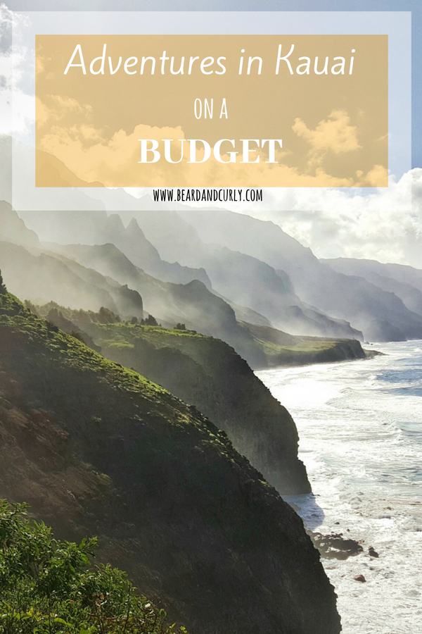 Adventures in Kauai on a Budget, Cheap Travel, Budget, Kauai, Hawaii, Hiking, Camping #budget #travel #cheap #kauai #hawaii www.beardandcurly.com