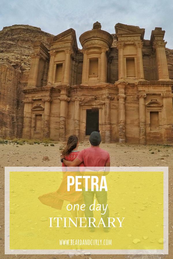 Petra One-Day Itinerary, Travel, Tourism, History, Ruins, 7 Wonders, World Wonders #petra #ruins #jordan #travel www.beardandcurly.com