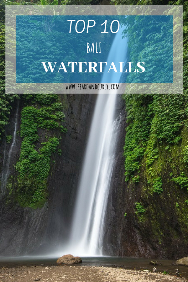Top 10 Waterfalls in Bali, The BEST waterfalls in #bali, #waterfalls, #ubud, #indonesia, #travel #holiday, check out more at www.beardandcurly.com