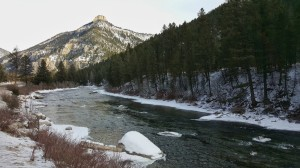 Scenery in Yellowstone