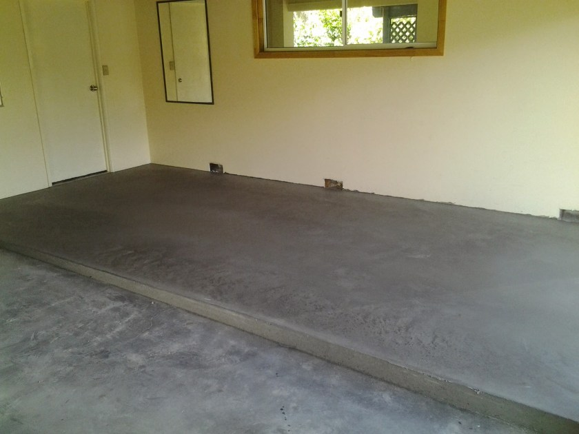 Garage Topping Slab