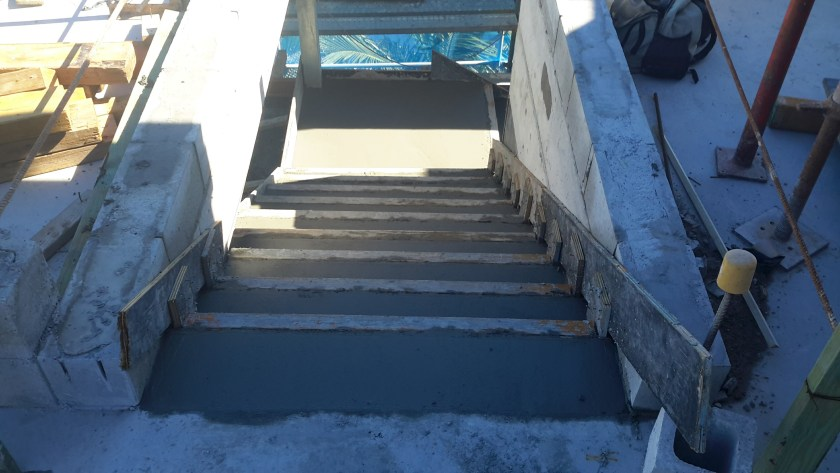 Suspended Concrete Stairs