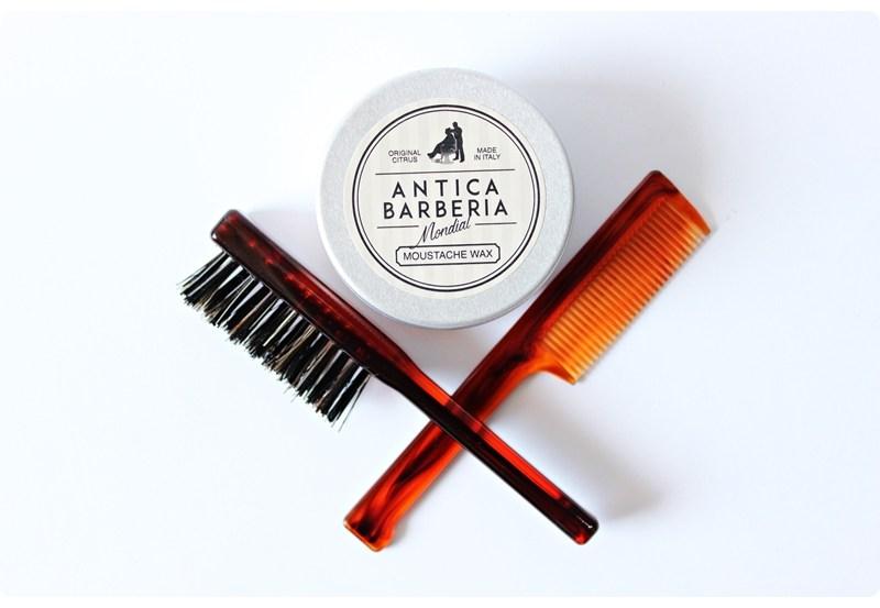 Mondial 1908 Moustache Wax (Antica Barberia) – recenzja wosku do wąsów