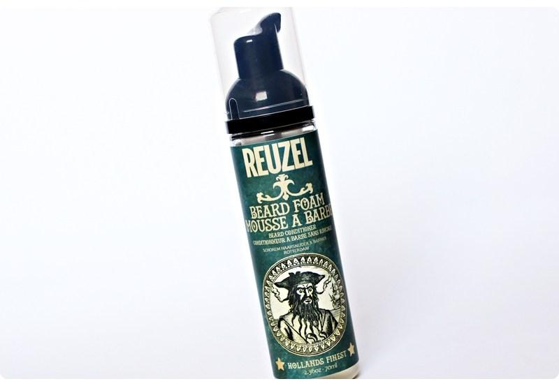 Reuzel Beard Foam – recenzja odświeżającej pianki do brody