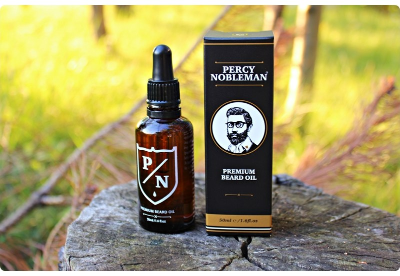 Percy Nobleman Premium Beard Oil – recenzja olejku