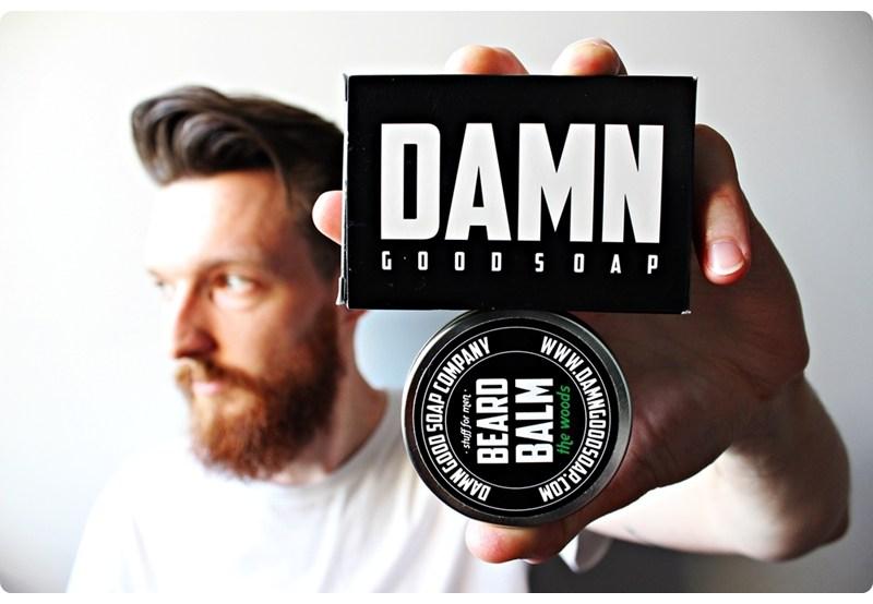 Damn Good Soap Company Beard Soap & Beard Balm (the woods) – recenzja mydła i balsamu do brody