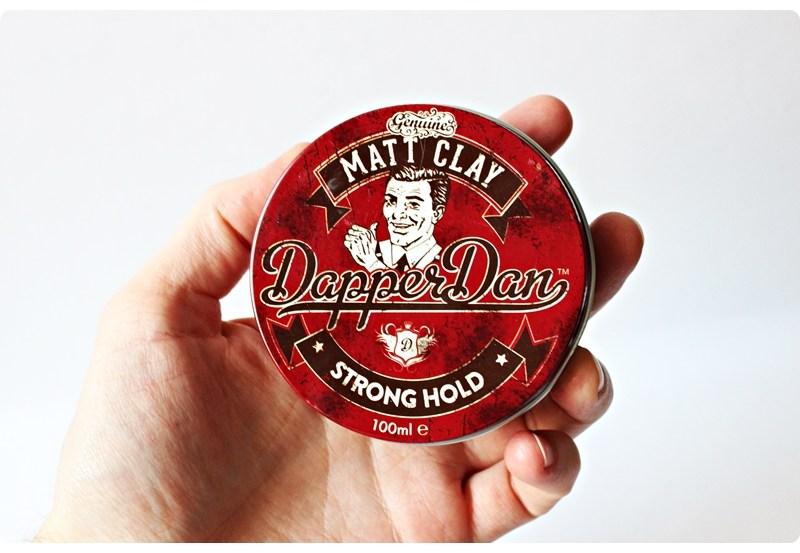 Dapper Dan Matt Clay – recenzja glinki do włosów