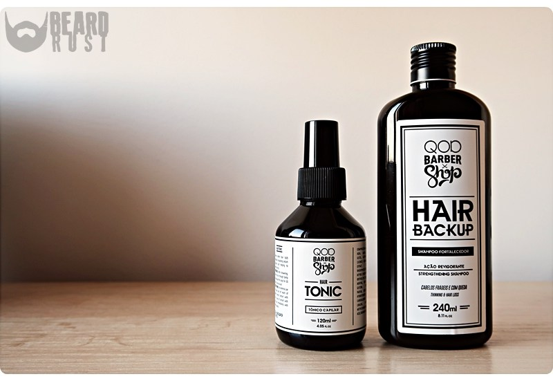 QOD Barber Shop Hair Backup + Hair Tonic – recenzja szamponu i toniku do włosów