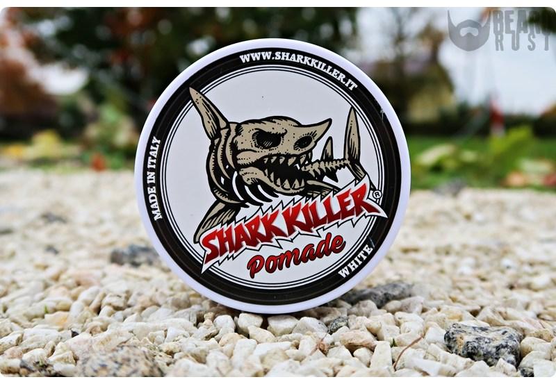 Shark Killer Pomade White – recenzja matowej pomady do włosów