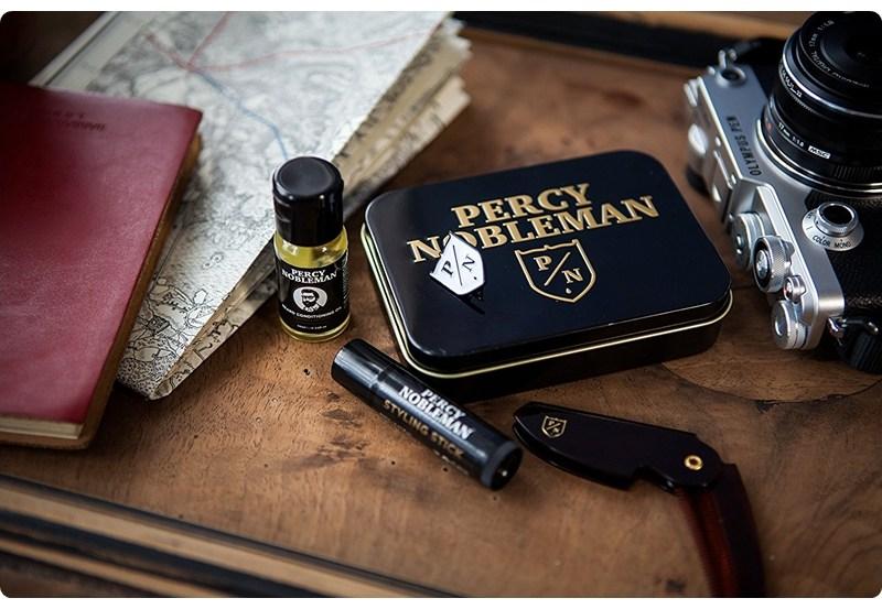 Percy Nobleman Travel Tin – recenzja zestawu brodacza