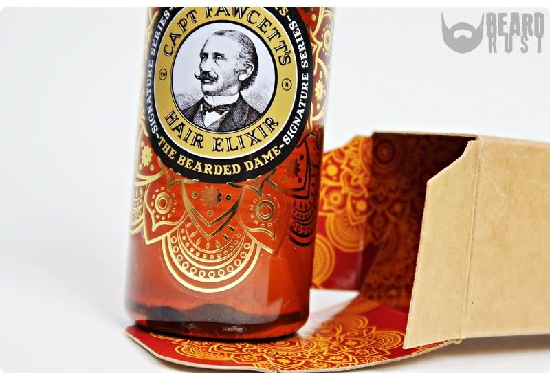 Capt. Fawcett's Hair Elixir (The Bearded Dame) – recenzja oleju do włosów i brody
