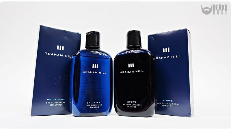 Graham Hill | Brickyard 500 Superfresh & Stowe Wax Out Charcoal Shampoo – recenzja