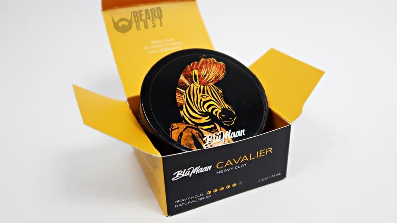 BluMaan Cavalier Heavy Clay – recenzja glinki do włosów