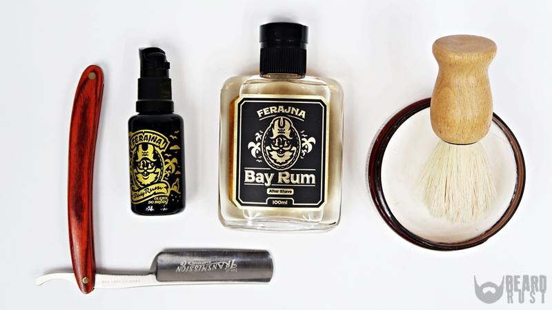 Pan Drwal x Ferajna Bay Rum After Shave – recenzja wody po goleniu