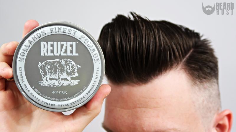 Reuzel Extreme Hold Matte Pomade (Grey) – recenzja pasty do włosów