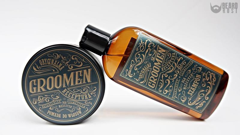 Groomen pomada + szampon do włosów – recenzja