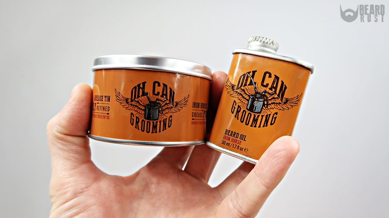 Oil Can Grooming Iron Horse Grease Pomade – recenzja