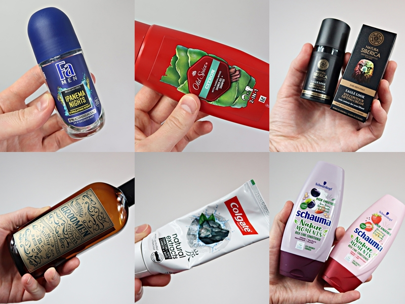 Projekt denko #7 – Old Spice, FA Men, Groomen, Natura Siberica