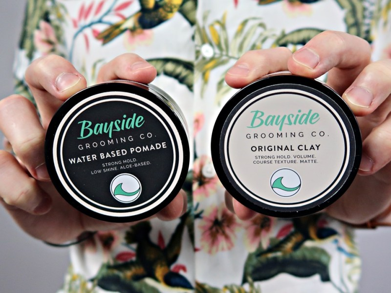 Bayside Grooming Co. Original Clay + WB Pomade – recenzja