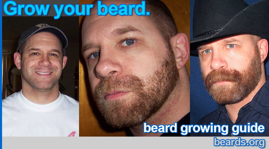 How to grow a beard