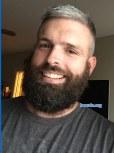 Ben's beard at three months