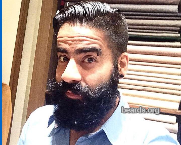 Sunny: today's beard, 2016/12/16