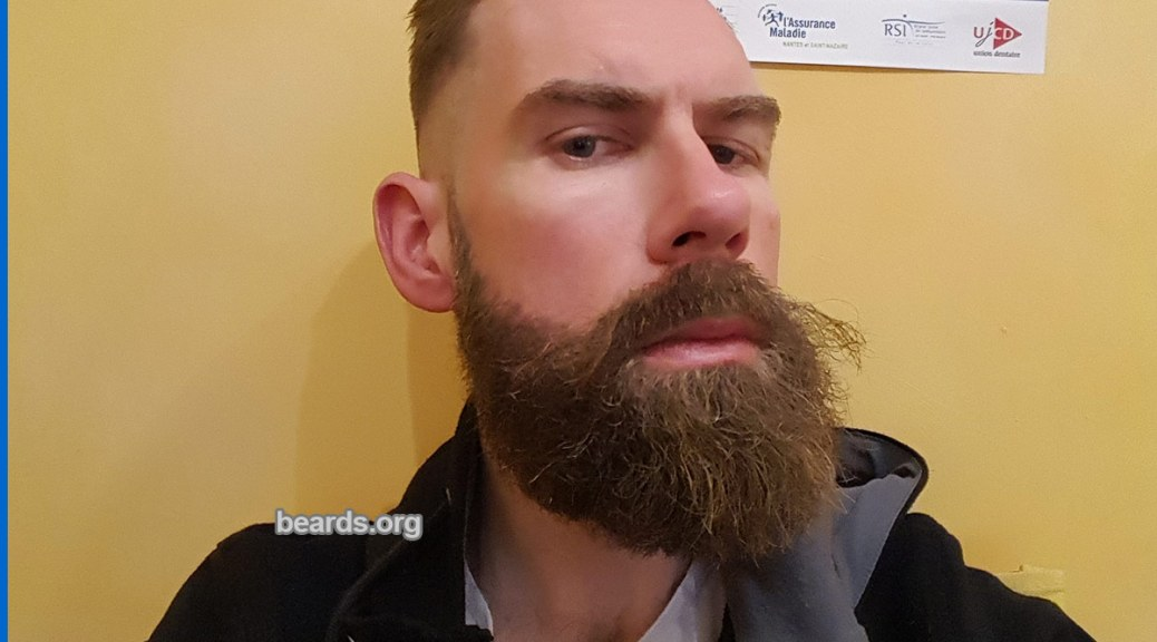 Benoît: today's beard, 2016/12/17