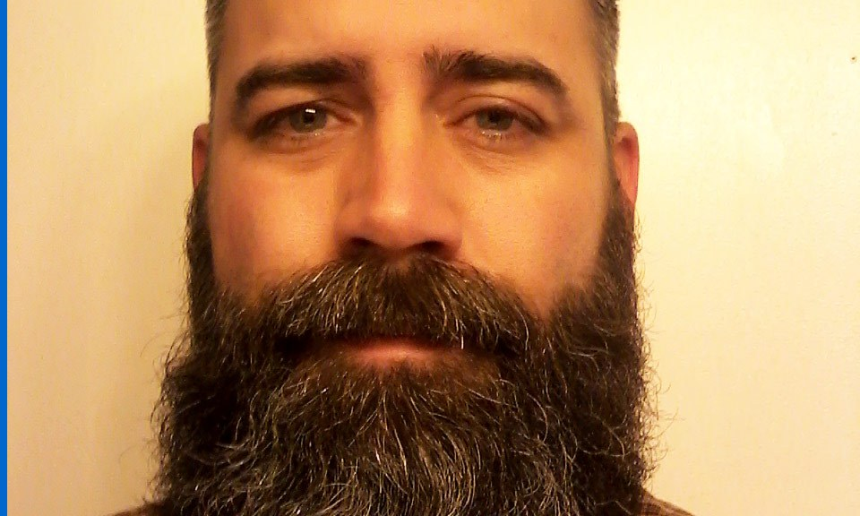 Jarrod's classic full beard: one of the best anywhere!