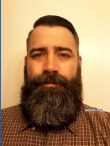 Jarrod's classic full beard: one of the best anywhere!