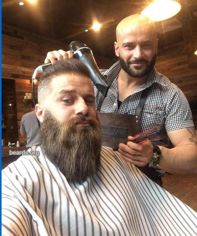 Moey: today's beard, 2016/12/15