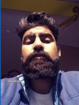 Vick: today's beard, 2016/12/22