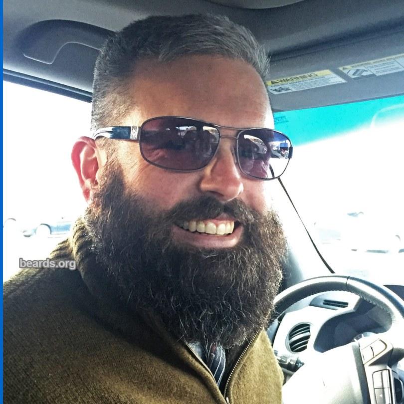 Ben's beard at five months, photo 3