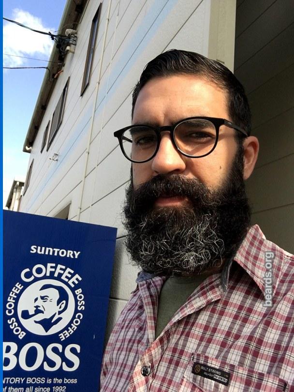 Thiago, beard photo 2