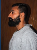 Rahul, beard photo 4