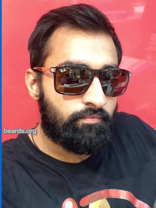 Rahul, beard photo 6