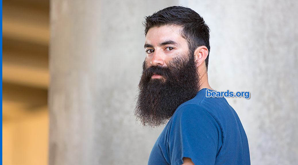 Twenty-two years, all about beards, featured image with Vincent