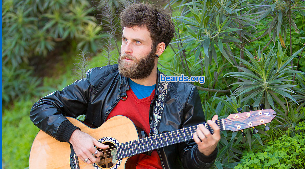 Nate, with a beard and a song, featured image
