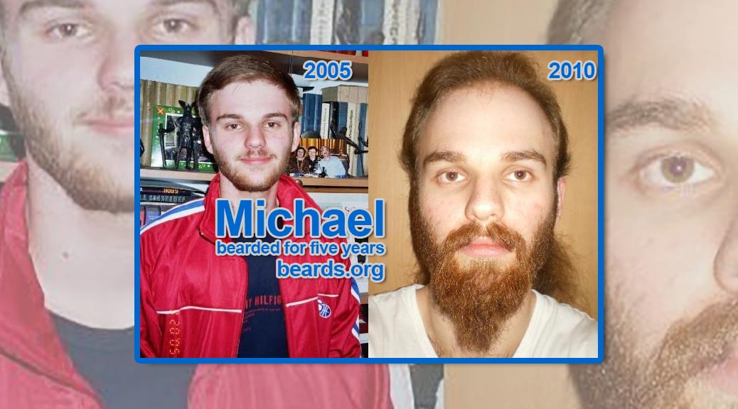 Michael, bearded for five years, featured image