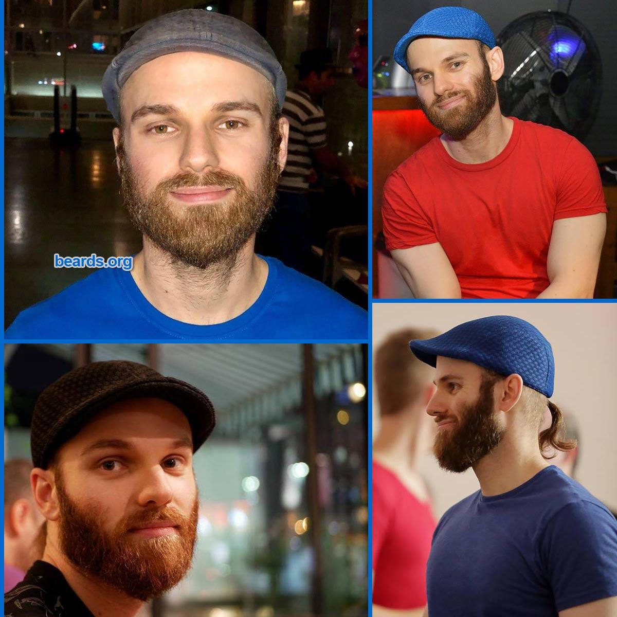 2019: recent views of Michael's beard