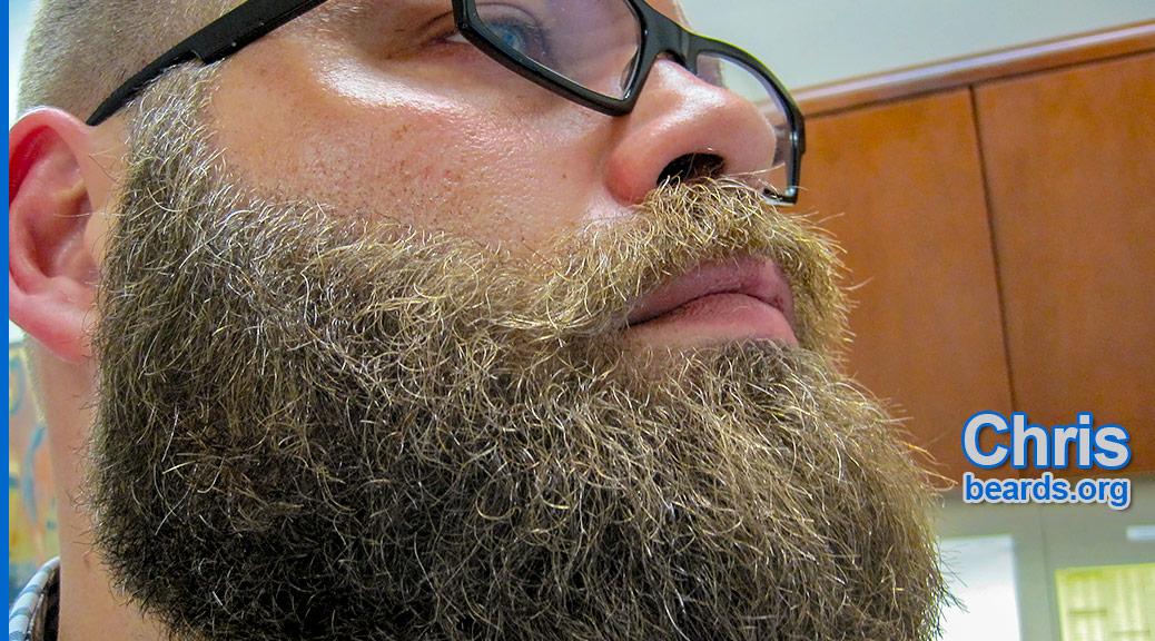 Chris' fierce beard, featured image 1